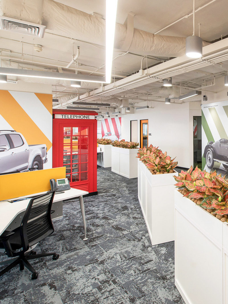 Steven Leach Group-designed Chevrolet was voted as one of the top 7 most incredible offices in Bangkok