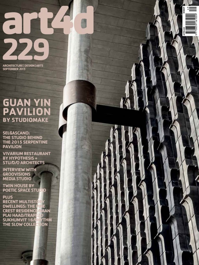 Steven Leach Group's Baan Plai Haad featured in art4d magazine