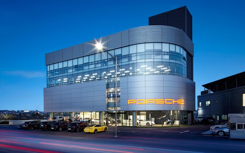 PORSCHE Center – Ilsan Showroom
