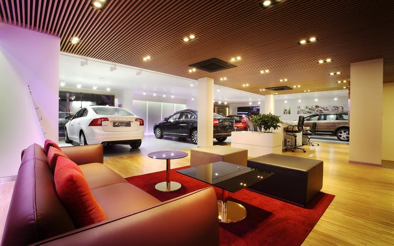 Volvo's new Yongsan Showroom