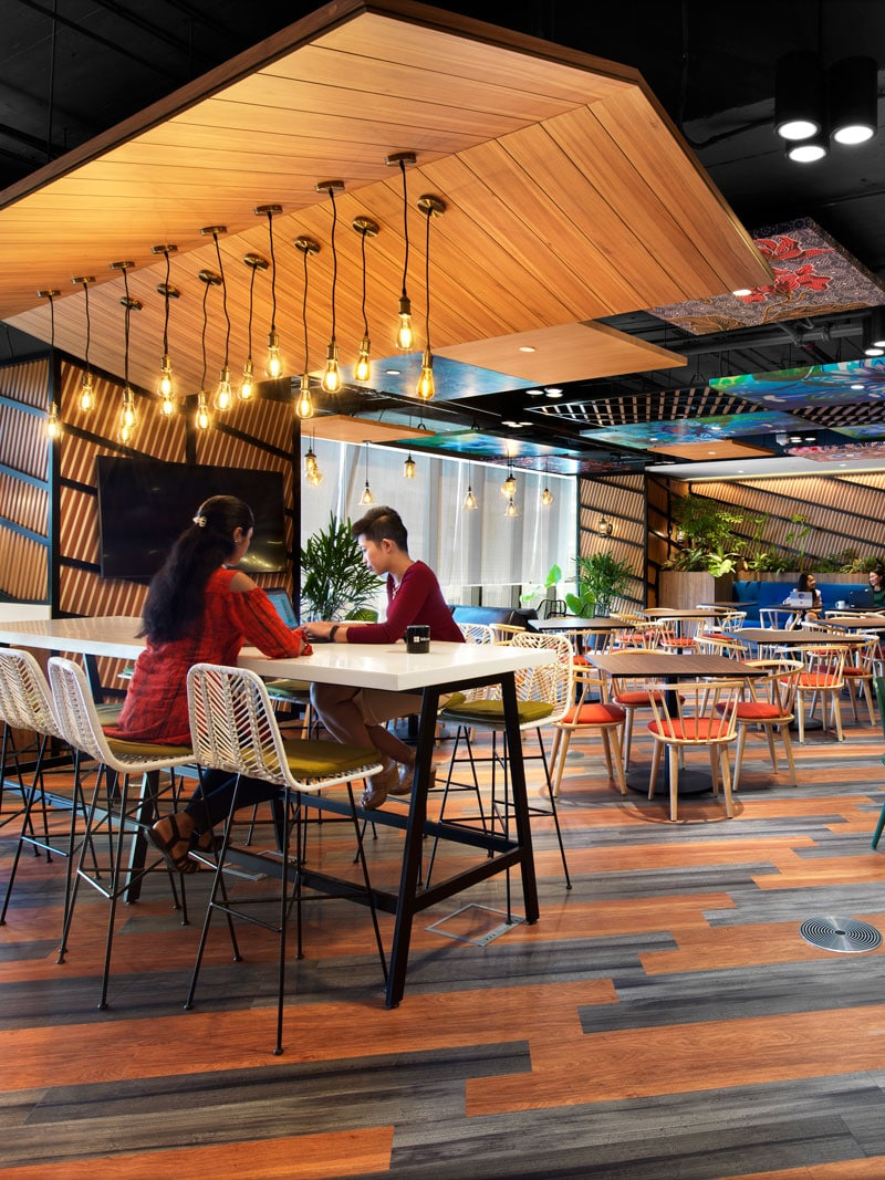 A Global Hi-Tech Company head office reflects Malaysia's diversity of cultures, art and environment