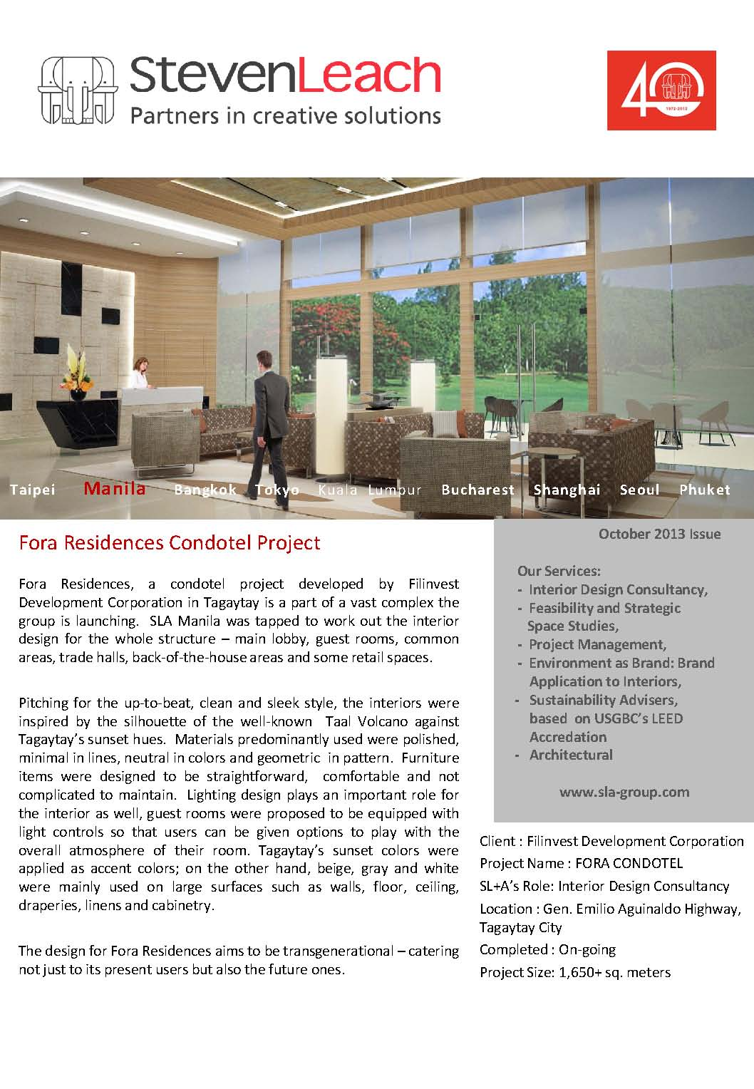 Fora Residences Condotel Project