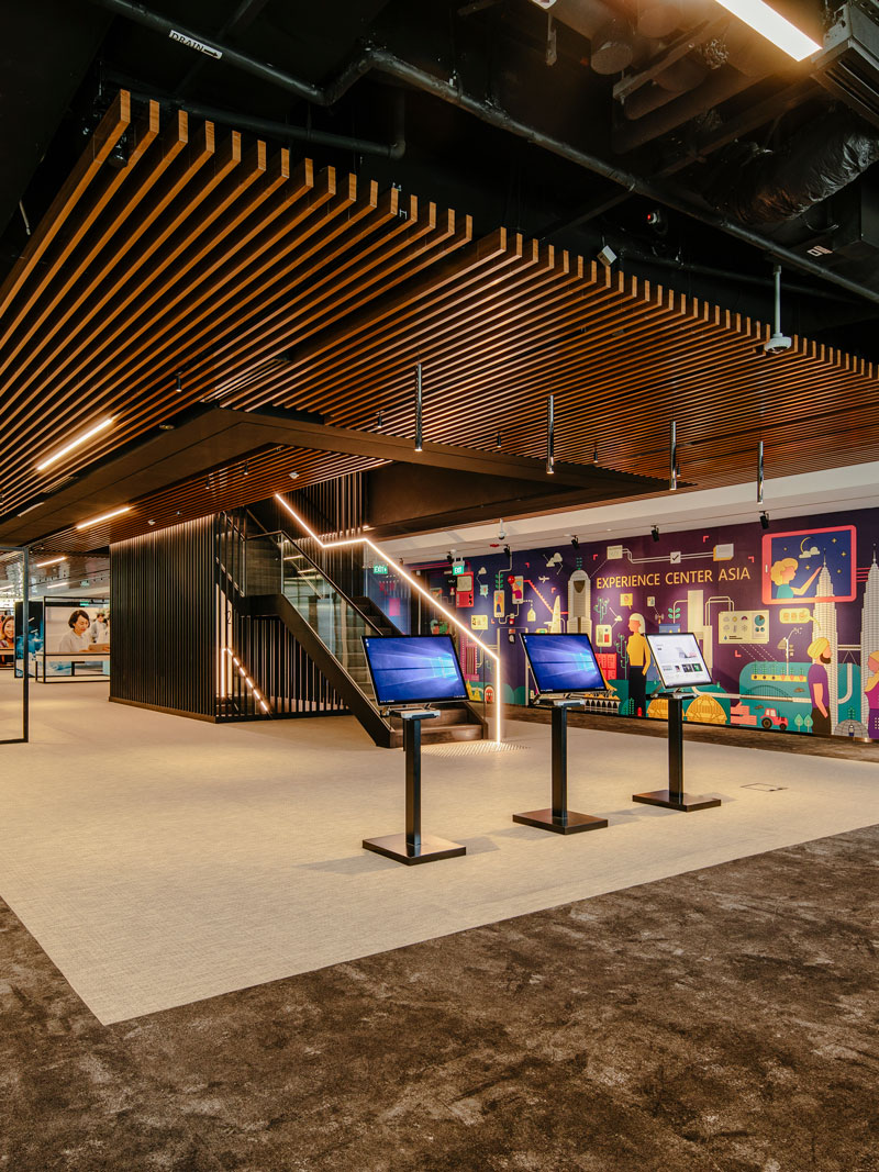 The Experience Center Asia: Microsoft & The Future of Work