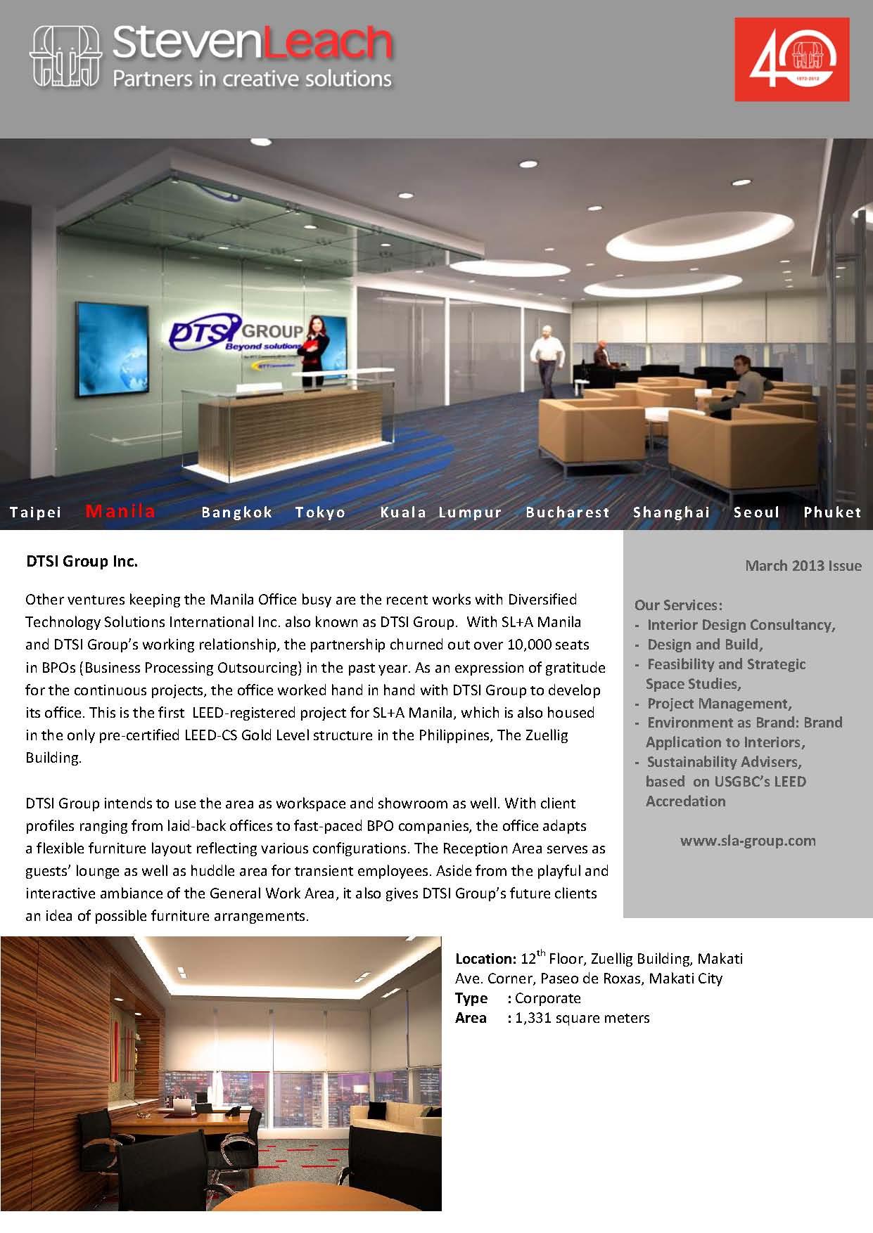 DTSI Group Inc.+Coca Cola Bottlers Company